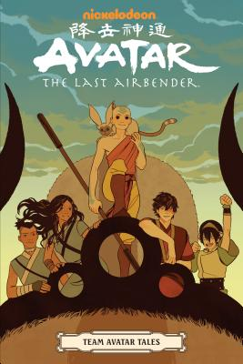 Avatar: The Last Airbender - Team Avatar Tales Cover Image