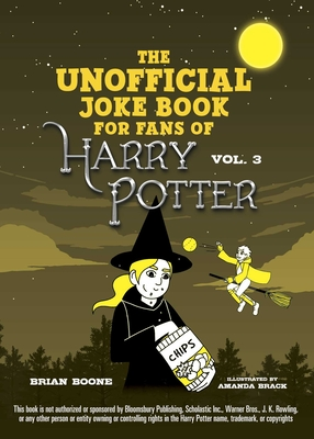 The Unofficial Harry Potter Joke Book: Howling Hilarity for Hufflepuff Cover Image