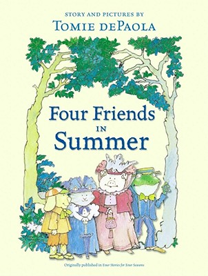 Four Friends in Summer Cover Image
