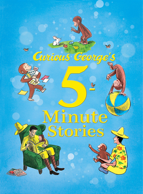 Curious George's 5-Minute Stories Cover Image