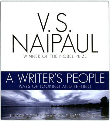 A Writer's People Cover