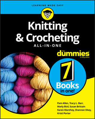 Knitting & Crocheting All-In-One for Dummies Cover Image