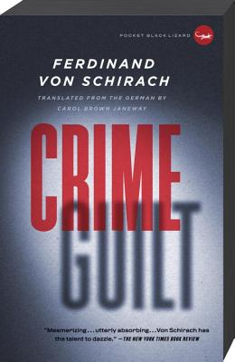 Crime and Guilt Cover