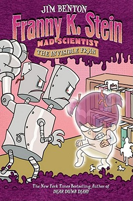 The Invisible Fran (Franny K. Stein, Mad Scientist #3) Cover Image