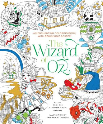 The Wizard of Oz Coloring Book Cover Image