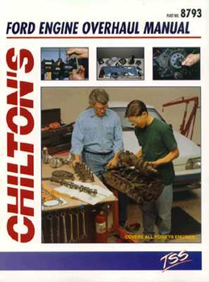 Ford V8 Engine Overhaul Manual (Chilton's Total Service) Cover Image