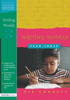 Writing Models Year 3 Cover Image