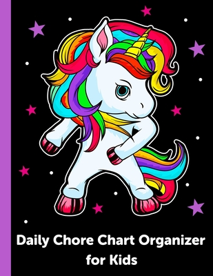Daily Chore Chart Organizer for Kids: Daily and Weekly Responsibility Tracker for Kids Cover Image