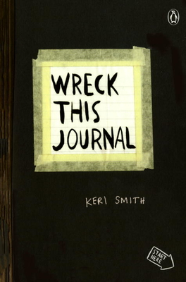 Wreck This Journal (Black) Expanded Ed. Cover Image