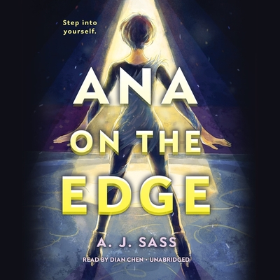 Ana on the Edge Lib/E cover