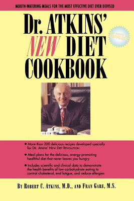 Dr. Atkins' New Diet Cookbook Cover Image