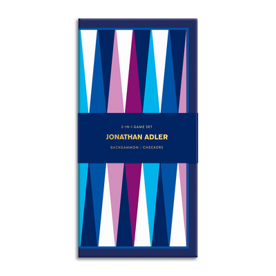 Jonathan Adler 2-in-1 Travel Game Set Cover Image