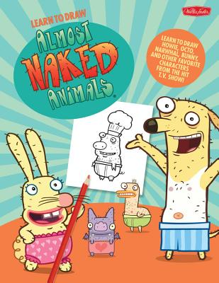 Learn to Draw Almost Naked Animals Cover