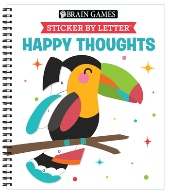 Brain Games - Sticker by Letter: Happy Thoughts Cover Image