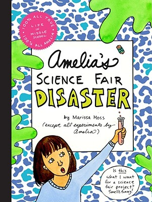 Amelia's Science Fair Disaster Cover