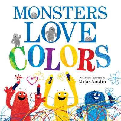 Monsters Love Colors Cover Image