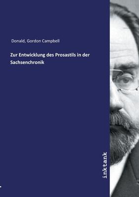 Zur Entwicklung des Prosastils in der Sachsenchronik Cover Image