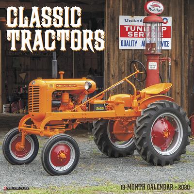 Classic Tractors 2020 Wall Calendar Cover Image