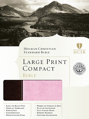 Large Print Compact Bible-HCSB Cover