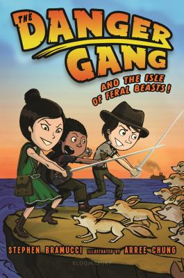 The Danger Gang and the Isle of Feral Beasts! Cover Image