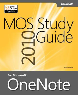 Mos 2010 Study Guide for Microsoft Onenote Cover Image