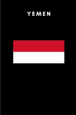Yemen: Country Flag A5 Notebook to write in with 120 pages Cover Image