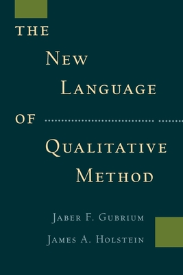 The New Language of Qualitative Method Cover Image