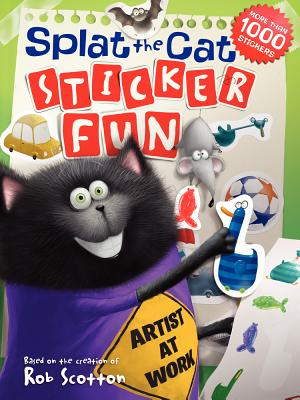 Splat the Cat: Sticker Fun [With Sticker(s)] Cover Image