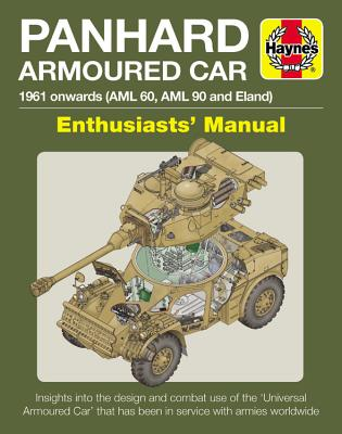Panhard Armoured Car: 1961 onwards (AML 60, AML 90 and Eland) (Enthusiasts' Manual) Cover Image