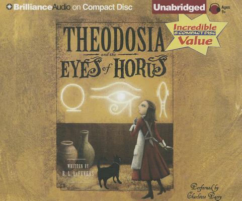 Theodosia and the Eyes of Horus (Theodosia (Audio)) Cover Image