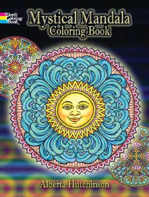 Mystical Mandala Coloring Book (Dover Coloring Books) Cover Image