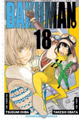 Bakuman., Volume 18 Cover