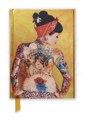 Justice Howard: Tattoo Art (Foiled Journal) (Flame Tree Notebooks #50) Cover Image