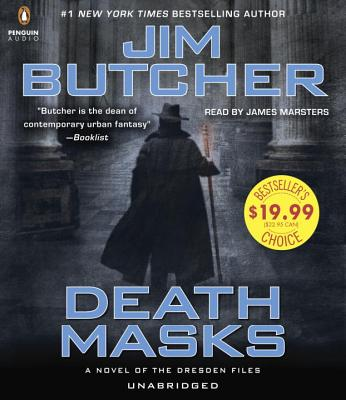 Death Masks (Dresden Files #5) Cover Image