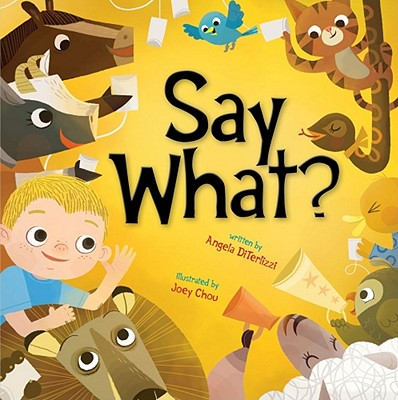 Say What? Cover