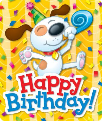 Happy Birthday Motivational Stickers Cover Image