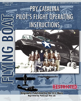 Pby Catalina Pilot's Flight Operating Instructions Cover Image