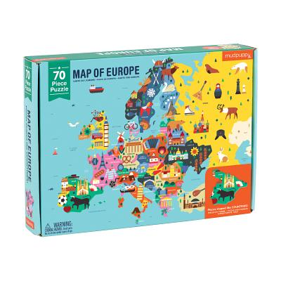 Map of Europe Puzzle Cover Image