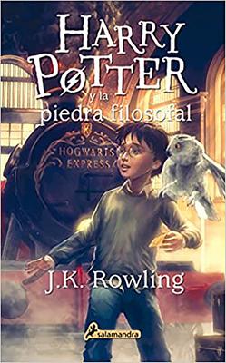 Harry Potter y La Piedra Filosofal Cover Image