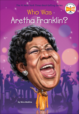 Who Is Aretha Franklin? (Who Was...? (Quality Paper)) Cover Image