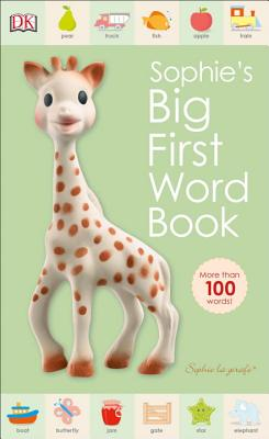 Sophie la girafe: Sophie's Big First Word Book Cover Image