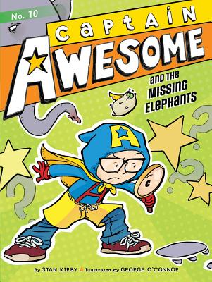 Captain Awesome and the Missing Elephants Cover Image