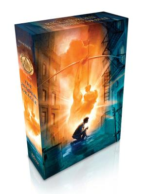 The Trials of Apollo Book One The Hidden Oracle (Special Limited Edition) Cover Image