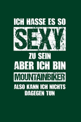 Mountainbike: Sexy Mountainbiker: Notizbuch / Notizheft für Mountainbikefahrer Downhill MTB A5 (6x9in) dotted Punktraster Cover Image