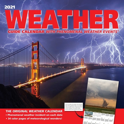 Weather Guide 2021 Wall Calendar Cover Image