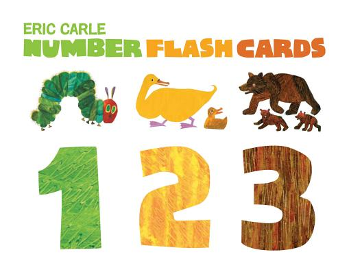 The World of Eric Carle(TM) Eric Carle Number Flash Cards Cover Image