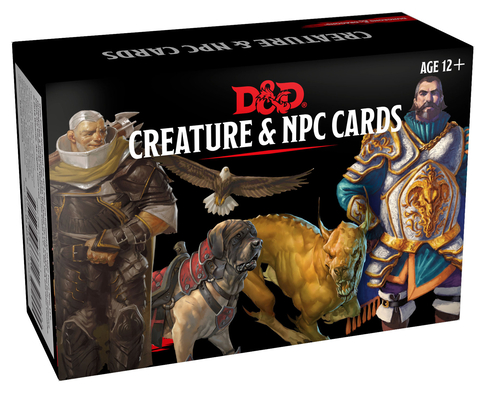 Dungeons & Dragons Spellbook Cards: Creature & NPC Cards (D&D Accessory) Cover Image