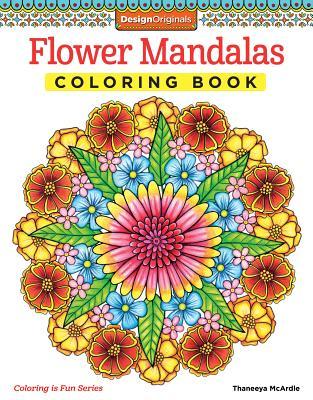 Flower Mandalas Coloring Book (Coloring Is Fun #13) Cover Image