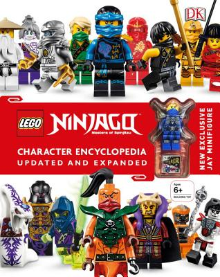 LEGO NINJAGO Character Encyclopedia, Updated Edition: New Exclusive Jay Minifigure Cover Image