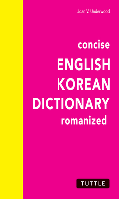 Concise English-Korean Dictionary Cover Image